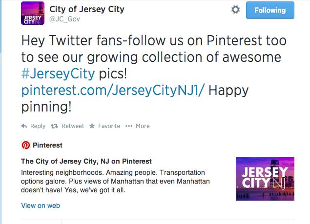 JC pinterest page