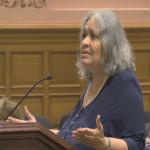 Jersey City Council attendee denounces time limitation on public speech