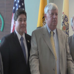 DeGise talks new courthouse, county jail as three more Hudson mayors endorse re-election
