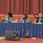 Jersey City Board of Education candidates speak at final meeting before election