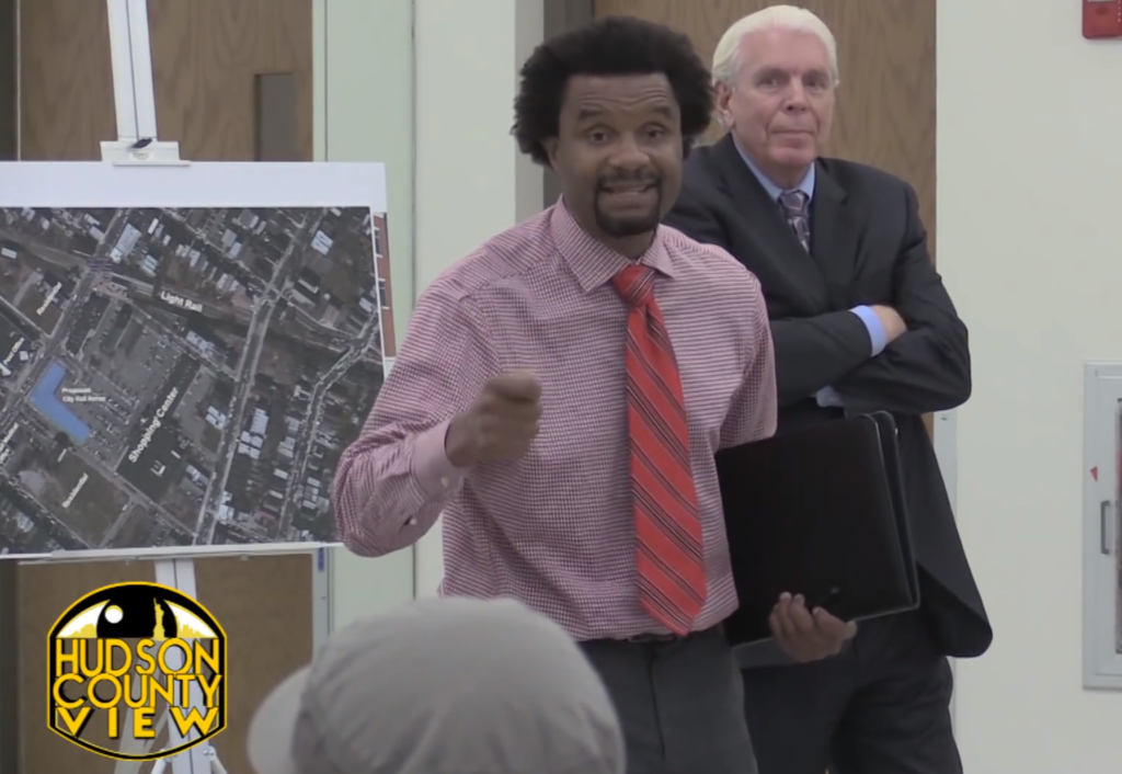Muhammed Akil lobbying for the proposed MLK City Hall Annex