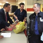 Fulop, Sacco, Stack and Wainstein help make Thanksgiving complete for families