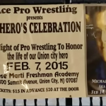 ACE Pro Wrestling puts on show in Union City to honor Michael Viruet, Jr.