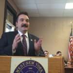 Assembly Speaker Vincent Prieto discusses Gov. Christie's vetoing of 'heat and eat' bill