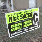 NB resident says he was threatened over campaign sign, Sacco camp refutes claim