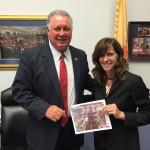 Zimmer meets with Sires, Menendez & Booker over street redesign project