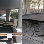 Floor of gazebo in Jersey City's Lincoln Park collapses, closed until further notice