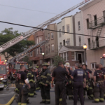 2 firefighters treated for burns, 15 families displaced from Union City blaze