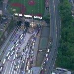 Three-vehicle crash in Lincoln Tunnel backs up traffic all the way to Clifton
