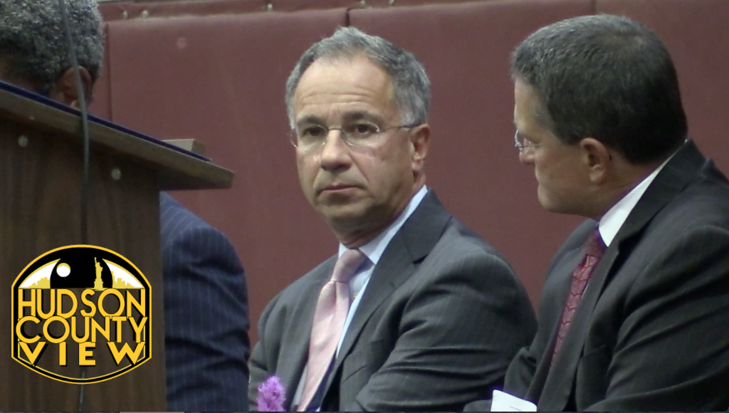 U.S. Attorney Paul Fishman at Hudson County Prosecutor Esther Suarez's swearing in on September 17.