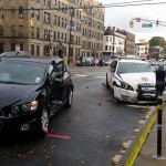 UPDATED: Hudson County Sheriff's Officer involved in Jersey City car accident
