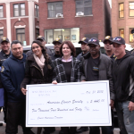 West New York PBA donates $5,440 to American Cancer Society