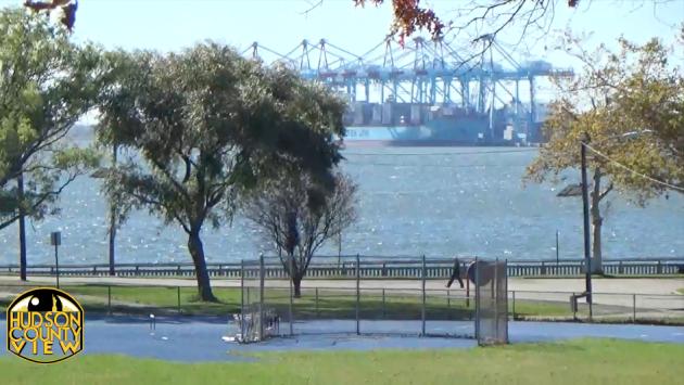 Bayonne's Stephen R. Gregg Park. Photo taken on October 27, 2014.