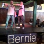 Ben & Jerry's founders denounce establishment, host rally for Bernie Sanders