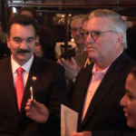 Prieto, Zimmer, DeGise come out to support Chaparro in Hoboken