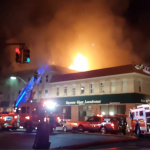 5-alarm fire in Bayonne displaces 45 people, 2 firefighters hospitalized