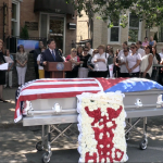 Dozens of friends and family pay respect to WNY Mayor Roque's father