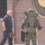 Jersey City, Bergen County Bomb Squads respond to threat in Guttenberg