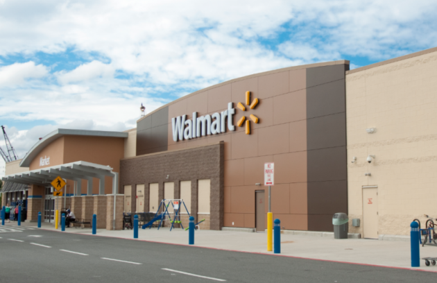 The Walmart in Kearny. Photo via vectorshades.net.