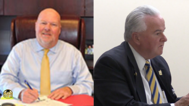 Jersey City DPW Director Mark Redfield (left) is retiring and will be replaced by OEM & Homeland Security Director Sgt. W. Greg Kierce will step in as the acting director.