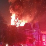 2 firefighters injured, 13 people displaced and 7 cats dead from Bayonne fire