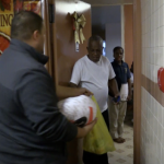 Guttenberg officials distribute 125 Thanksgiving meals to families in need