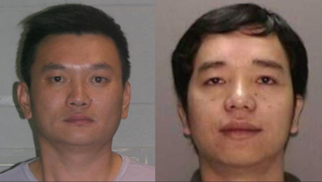 Yih Tan and Rong Wu. Photos courtesy of New Jersey State Police.