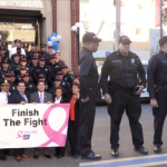 West New York cops honored by town, donate $5k to American Cancer Society