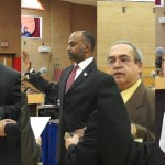 Jersey City BOE swears in 4 new trustees, Torres named pres, Thomas VP