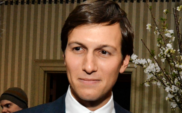 President Donald Trump's Senior Advisor Jared Kushner. Photo via The Wall Street Journal.