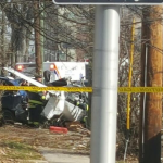 UPDATED: 'Small plane crash' in Bayonne shuts down Avenue E between 41st and 42nd Streets