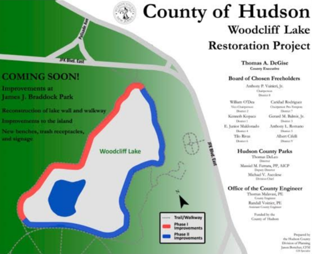 Braddock park restoration