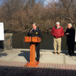 Vainieri, Sacco, DeGise announce $4M restoration project at Braddock Park
