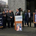 Amalgamated Transit Union endorses Jersey City Mayor Fulop for re-election