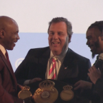 Christie crowned 'reentry champion of the world' by Tyson, McGreevey