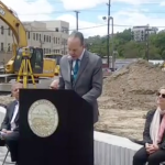 Hoboken, state officials tout flood resiliency plans at Southwest Park