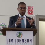 Gov candidate Johnson talks policing, school choice, ethics reform in Jersey City