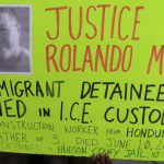 Activists protest Hudson County jail after immigrant detainee's death