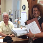 Hoboken business owner Karen Nason submits 420 mayoral petitions