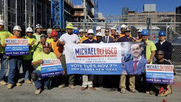 Photo courtesy of the DeFusco campaign.