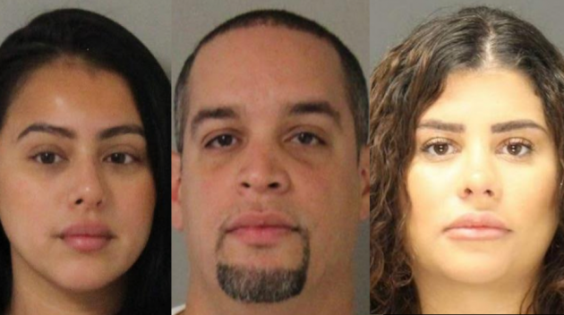From left to right: Melissa Coda, Olvy Torres and Yesenia Suriel. Photos courtesy of the Hudson County Prosectuor's Office.