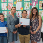 CarePoint Health donates 10 laptops to TRUE Mentors students in Hoboken