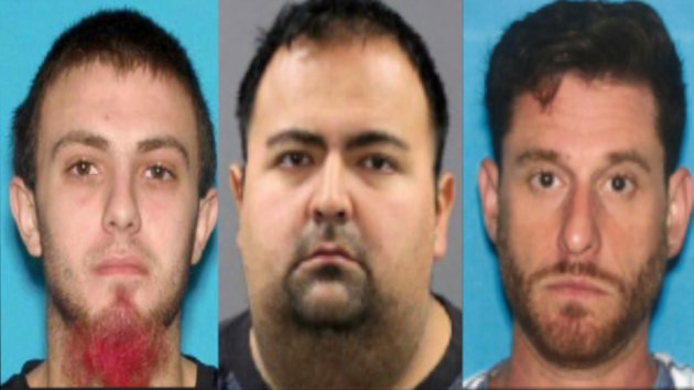 From left to right: William Esker, Raul Rodriguez and Jonathan Latiff. Photos courtesy of the state attorney general's office.