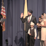 Booker, Menendez, Stack, Grewal come to Hoboken for Bhalla's swearing in