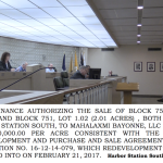 Bayonne council OK's selling just over 4 acres of Harbor Station South for $2.1M