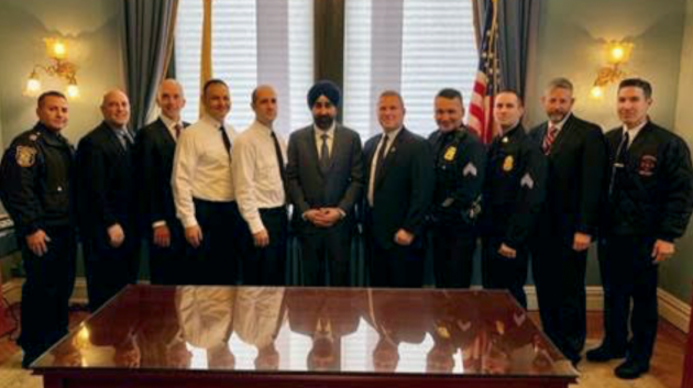 Photo courtesy of Hoboken Mayor Ravi Bhalla's office.