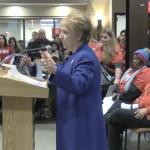 NJEA pres. joins hundreds of Jersey City teachers demanding new contract