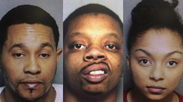 Iggal Copeland, Marquese Kine and Epiphany Alston. Photos courtesy of Port Authority police.