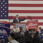Senator Menendez takes aim at Trump, NRA at re-election kickoff in Union City