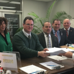 Bayonne Mayor Davis, running mates, submit over 4,700 petitions for nomination